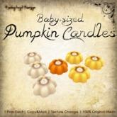[DDD] Baby Sized Pumpkin Candles