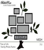 BELLAROSE Family Tree Photo Frames