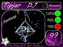DJ Tip jar 15 >> Fantasy Personal DJ Tip jar <<