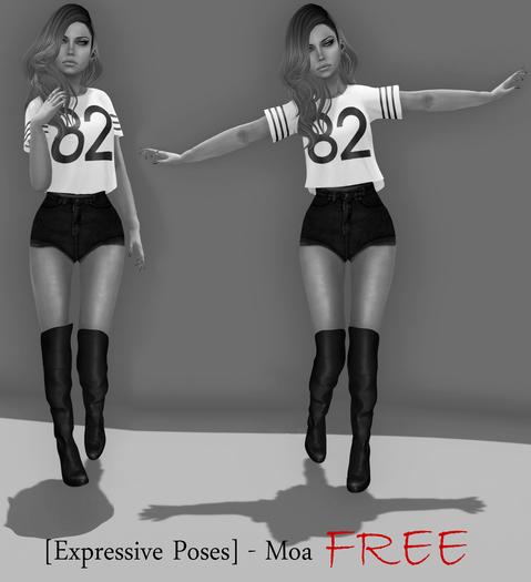 [Expressive Poses] - Moa FREE