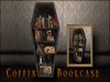 Boudoir Halloween -Coffin Bookcase