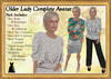 Older lady complete ad