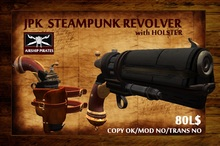 **JPK Steampunk  Revolver with Holster BOX