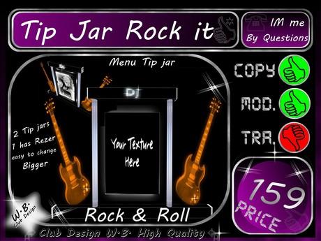 DJ Tip jar 20 >> R.O.C.K. it DJ <<