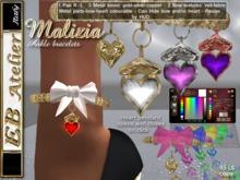 EB Atelier - Malizia Anklets with HUD (GOLD•SILVER•COPPER) - italian designer