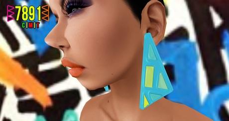 [7891.] Banger Earrings - 3.0 (W\Resize)