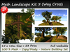 Mesh Landscape  Kit 5 23 prim=15x15m copy-mody