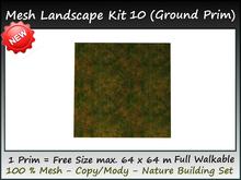 Mesh Landscape kit 10 new texture all sizes=1 Prim copy-mody