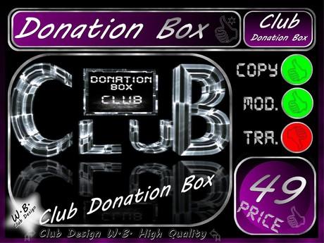 Donation Box 4 >> S.E.T. Donation Box CoOL <<