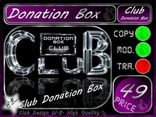 Donation Box 4 >> S.E.T. Donation Box CoOL