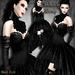 ~Black Arts~Bellatrix Gown with Neck Corset