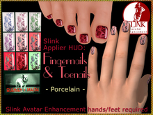 Bliensen + MaiTai - Slink Nail Applier HUD - nailpolish for toenails and fingernails - Porcelain