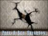 Boudoir Halloween-Peek-A-Boo Skeleton-Wall version