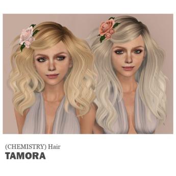 (Chemistry) Hair - Tamora - HUD.1