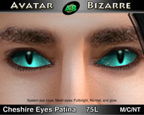 AB Cheshire Cat Eyes Patina