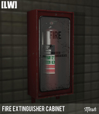[LW] Fire Extinguisher Wall Cabinet (Mesh)