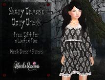 *HQ* Skully Demask Dolly Dress
