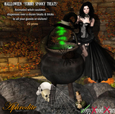 AphroditeHalloween magic cauldron trick & treats dispenser!