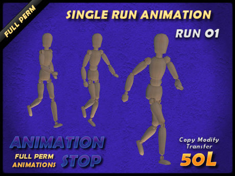 Animation Stop - Run 01 Full Perm Box