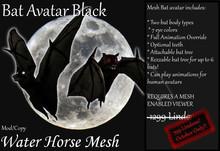 ~*WH*~ Mesh Bat Avatar Black
