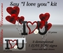 """~WC~ Say """"I love you"""" kit"""
