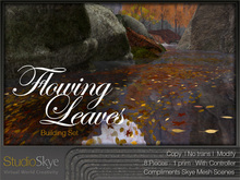 For Fall - Flowing Leaves from Studio Skye |  100% MESH
