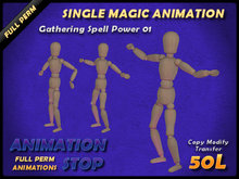 Animation Stop - Gathering Spell Power 01 Full Perm Box