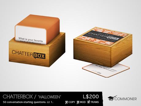 "[Commoner] Chatterbox / ""Halloween"""