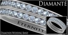 :Diamante: Eternity Diamonds Wedding Band
