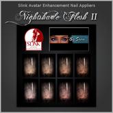 ~*By Snow*~ Slink Nails Appliers - Nightshade Flesh II