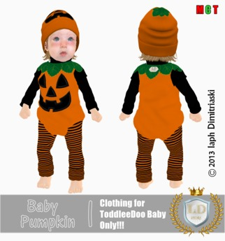 *LD* - Baby Pumpkin [ToddleeDoo Baby]