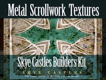 Skye Castle Build Kit Metal Scrollwork Textures Full Perms