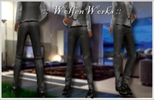 :: WolfenWorks :: Men's Dress Relaxed Pants and Shoes