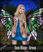 . Dream . Gem Wings - Green