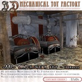 ~JD~ MTF steampunk Machinery set