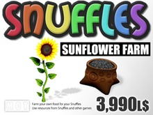 Snuffles Sunflower Farm - Farm Your Own Food - Sell Food To Earn Linden