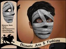 Mummy Mask (Grey Bandages)