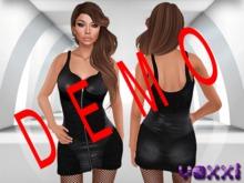 .::voxxi::. DEMO [Allya] Black Leather Dress