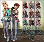 NS:: Unique Style Vest and Shirt Mesh (HUD)