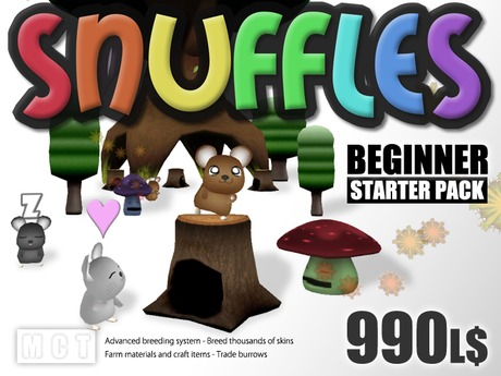 Snuffles Breedables Nest Tree - Beginner Starter Pack