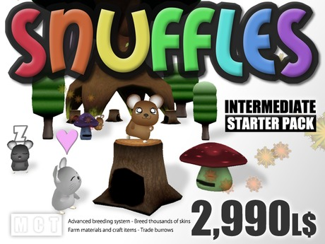 Snuffles Breedables Nest Tree (30% discount) - Intermediate Starter Pack
