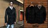 """""""DEW"""" OUTLET /Pea coat for men wool black"""