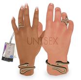 -FAUN- UNISEX Snake Charmer Bracelet&Ring -Gold-