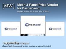 [MW] Mesh 3-Panel Price Vendor for CasperVend