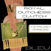 - B L E U - Royal Dutchess Clutch v2 (Citrush Xpress)