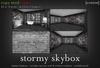 [croire] Stormy Skybox - 16x10x6m (resizable, low prim, artsy, dark, male, men)