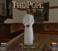 DM - The Pope - White Cassock - Boxed