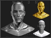 T-3D Creations [ Display Man Head ] MESH - Full Perm