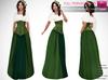 Full Perm Rigged Mesh Medieval Underbust Corset Dress