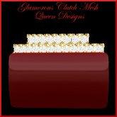 Glamorous Clutch Red Mesh